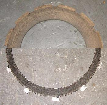 Clutch friction image