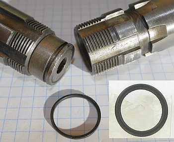 Clutch gear O-ring