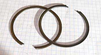 Mainshaft ball bearing snap ring