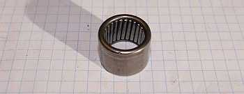 Trapdoor needle bearing