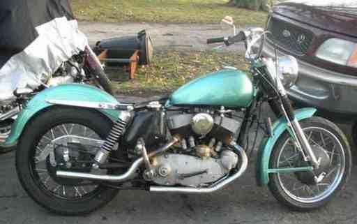 bigdadray58's 1953 Harley K-model