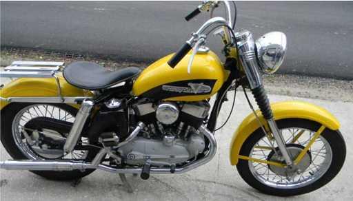 rockerbox69's 1956 Harley K-model