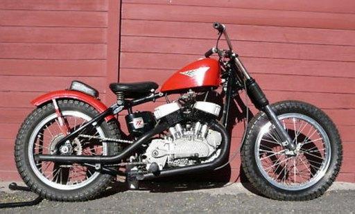 craiginstall's 1958 Harley KR flattrack racer