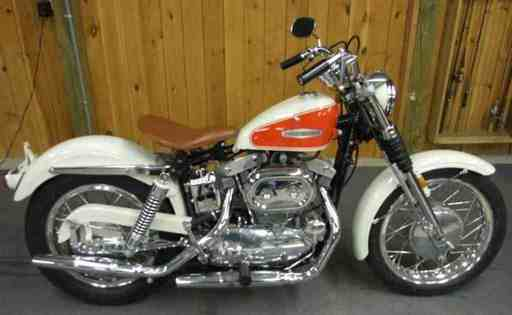 andraandrudy's 1966 Sportster XLCH