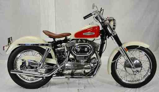 Lee Custom Cycles' 1966 Sportster XLCH