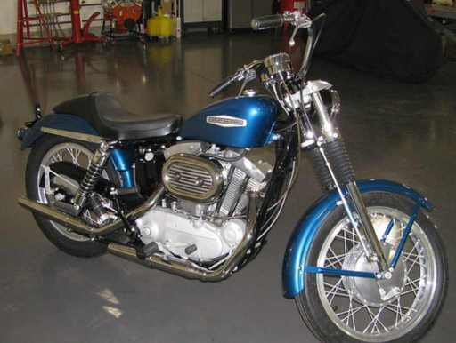 fhatty's 1968 Sportster collectors bike