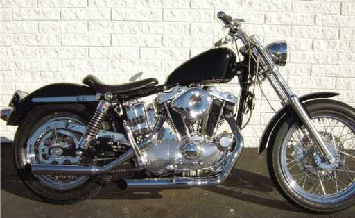 motorcyclemichaels' 1971 Sportster XLCH custom