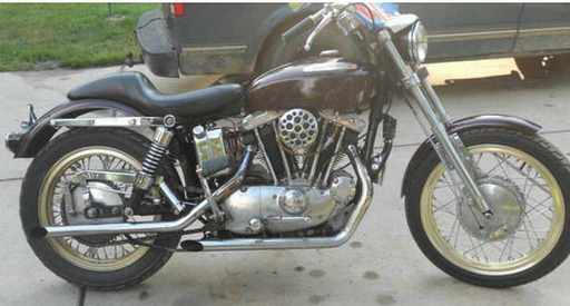 mworks2012's 1971 Sportster 900cc XLCH