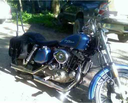 Ron's 1978 Harley-Davidson Sportster