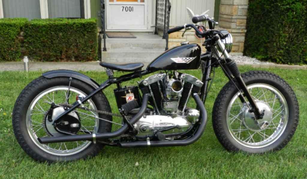 Harley Davidson Sportster on 1974 Sportster Bobber