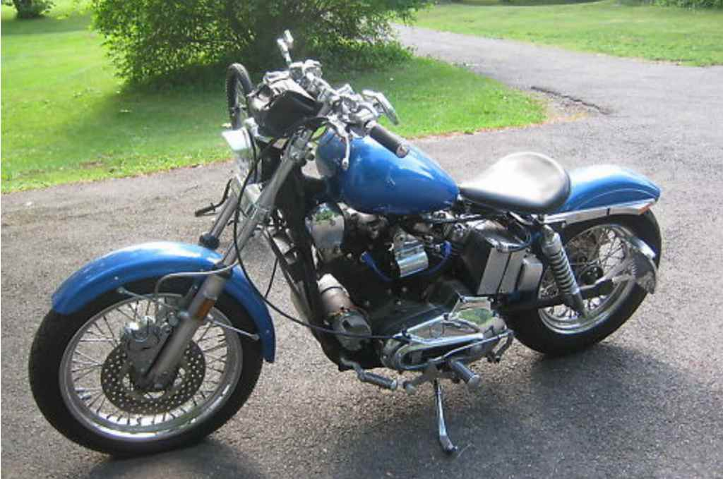 Sportster Lf on 1974 Harley Ironhead