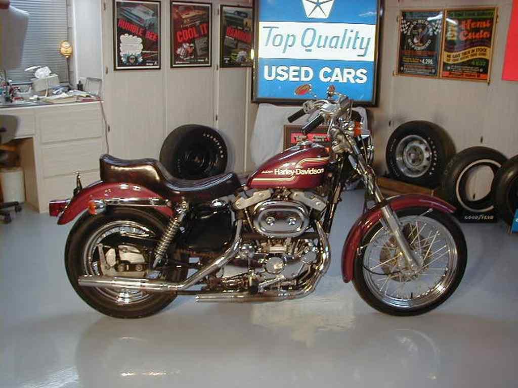 Sportster Xlh Rt on 1974 Xlh 1000 Harley Davidson Sportster