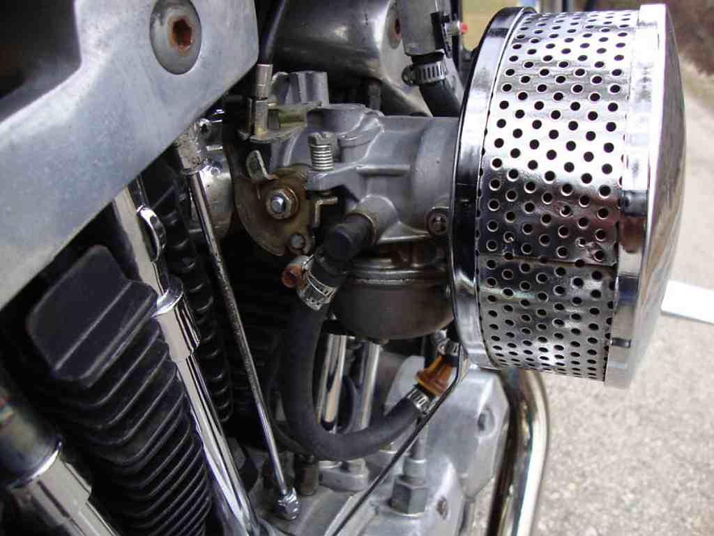 Genevacycleatvs 1975 Sportster Xlch Smrg Harley Davidson 1974 Carb