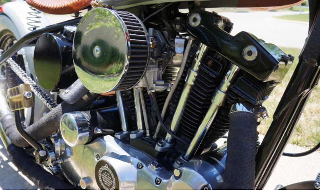 mlferguso's 1976 Sportster hardtail bobber - Sportster Smörg