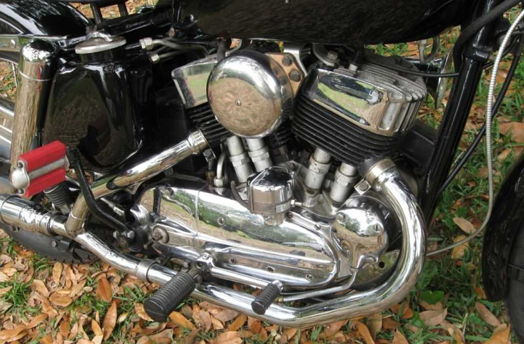 Harley K Model Eng Rt on 1974 Harley Sportster