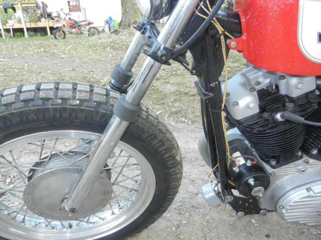 Cholm152 U0026 39 S 1964 Sportster Xlch Hardtail