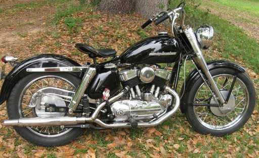 solotommy's 1952 Harley K-model