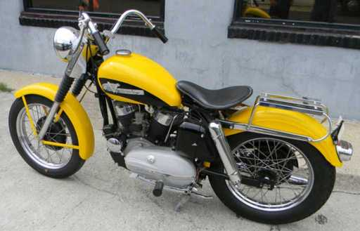 K Model Lf Thumb X on 1969 Harley Davidson Sportster